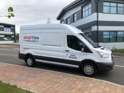 Long Wheel Base Panel Van For Hire