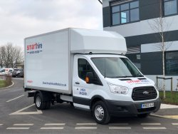 Ford Box with Tailift For Hire